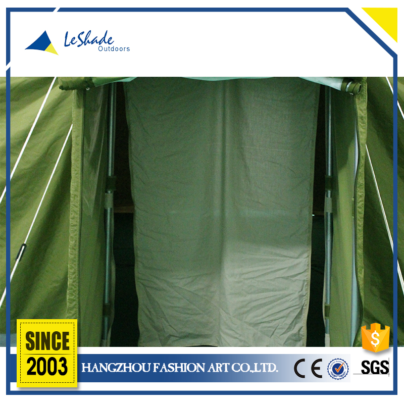 Professional design mildew resistant military tent fabric shelter