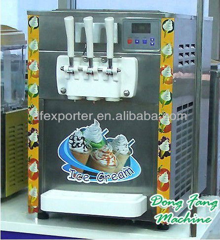 2015 newest desktop icecream machine BQL216T desktop icecream machine