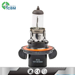 Style fitting auto head lamp h13 12v60w motorcycle halogen light bulb