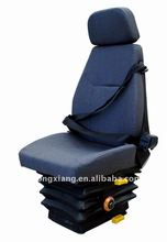 adjustable driver seat with suspension