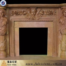 China fireplace hearth slabs