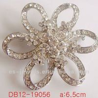 Fashion Beautiful Flower Style Alloy Crystal