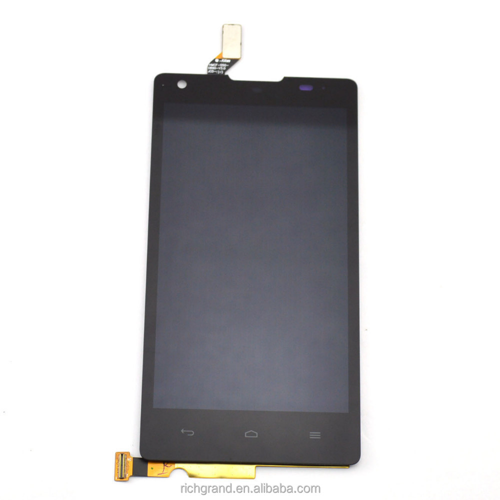 Black lcd display Touch Screen Digitizer Assembly for Huawei Ascend G700