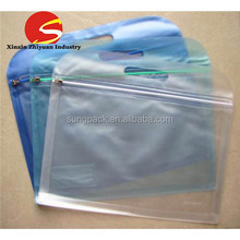 Clear PVC Waterproof Ziplock Document File Stationary Plastic Packaging Bag