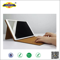 New design leather tablet case wireless Keyboard with Bluetooth for iPad pro