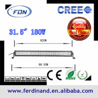 2014 new products cheap price high power waterproof ip67 180w 32 inch offroad cob led light bar