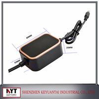 24v 300ma power adapter for CCTV,LED,DVR with CE,Rohs,Fcc,KC certifications,CB report
