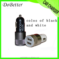 Car accessories cellphone used usb dual port car charger 5v2.1a