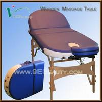 used spa portable massage table with CE certificate