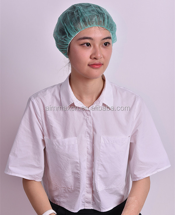 Dressings and Care For Materials Type and Medical Materials & Accessories Properties OEM Medical Non Woven Clip Cap, head cap