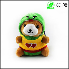 Cute doll design power bank, 5200mah toy power bank, lovely mobile phone power bank set RN015