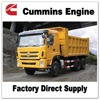 Sitom Brand Cummins Engine Tipper Truck