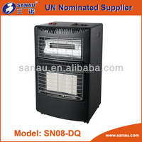 Mobile Gas & electric heater with CE certificate SN08-DQ