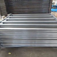 Galvanized Oval Rail Cattle Yard Panel