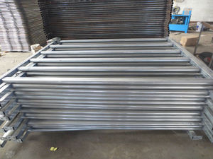 Galvanized Oval Rail Cattle Yard Panel Horse Panel Yard