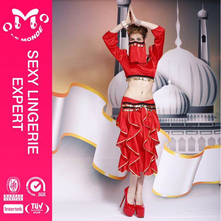 latest produc factory supply ballroom belly dance costumes