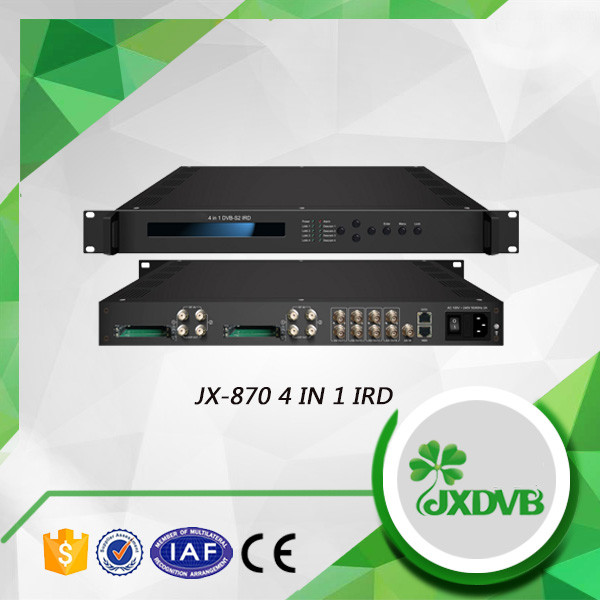 Approved manufacturer convenient to use tuner inputs decoder combo hd