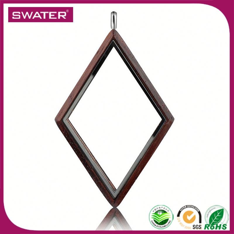 New Products 2017 Innovative Product Square Stainless Steel Mens Locket