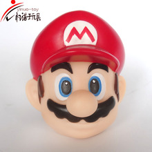2016 Hot sale Super Mario bros action figures good cartoon promotional gifts eco friendly PVC for children