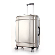 Candy color suitcase trolley luggage for travel