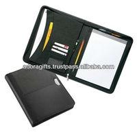 genuine leather presentation folders / unique presentation folders / business leather presentation file folders