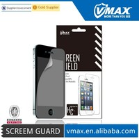 VMAX HC Anti-glare Screen Protector/ Protective PET Film for iPhone 4/4S Cell Phone Accessories Free Sample