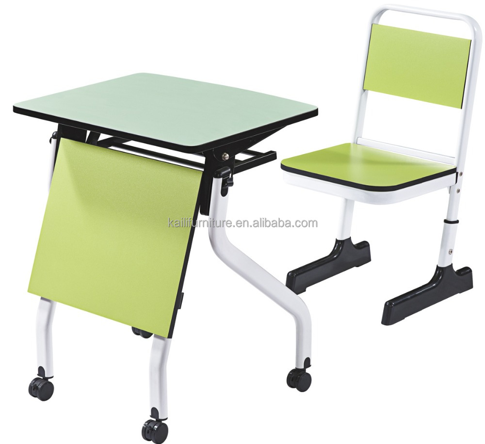 primary school classroom furniture students table and chair YB-138