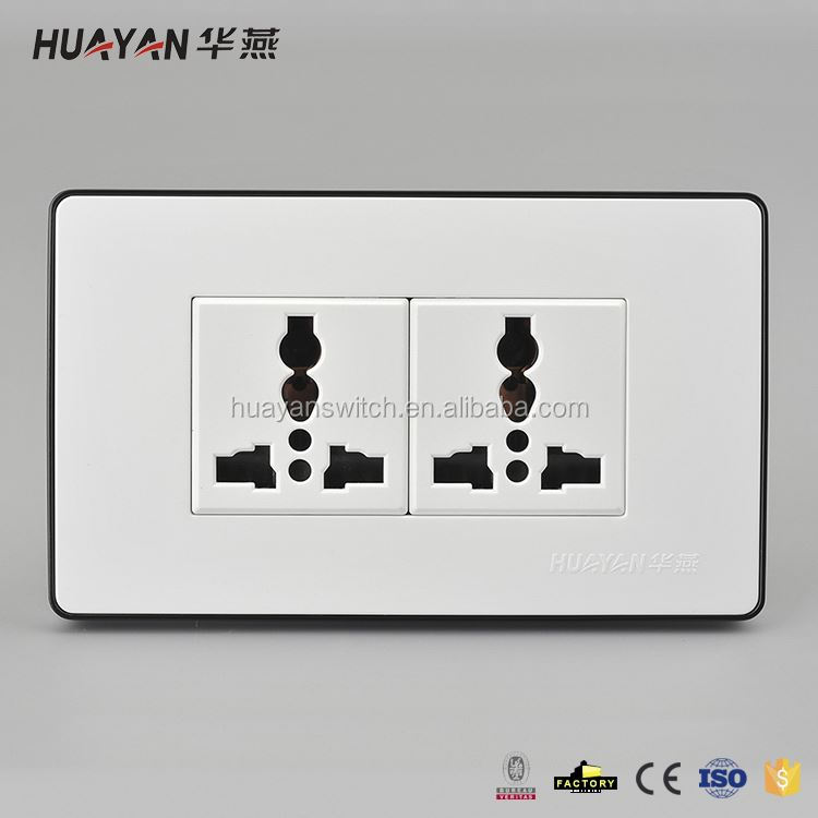 Modern style super quality secure electric socket with different size