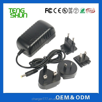 universal 12v 3a EU US UK AUS plug ac dc power adapter/power adaptor