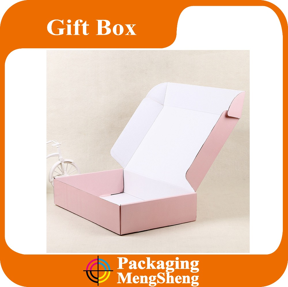 Cheap OEM 3PLY corrugated paper post box with customized logo printing