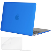 "2016 Top Selling Hard PC Protective Cover Case for Macbook Pro 13"" A1706&A1708 with/without Touch Bar Blue Case"