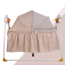 Wholesales portable folding infant rocking bed swing baby bed/cradle