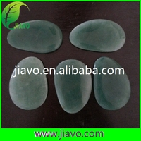 guasha tool/ jade stone heat massage/natural rough rose quartz