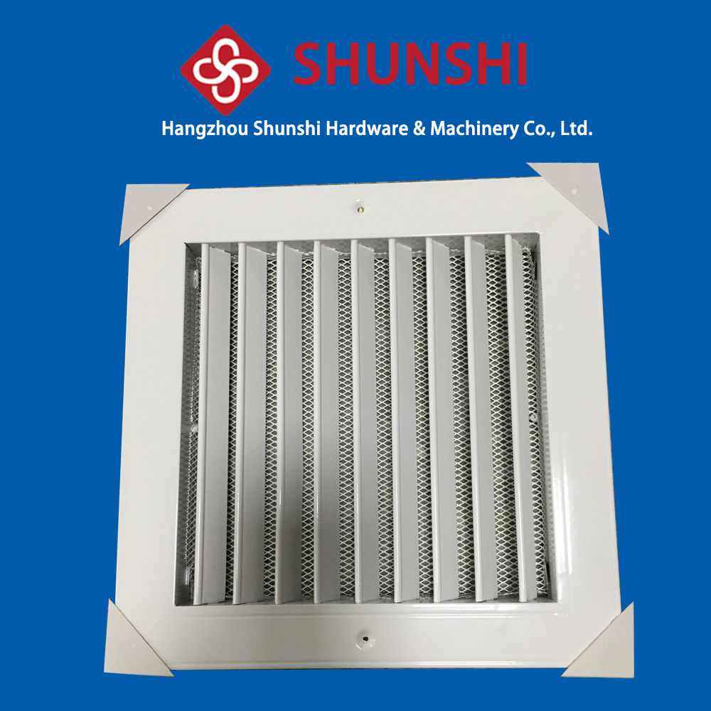 Floor air grill, aluminum air vent
