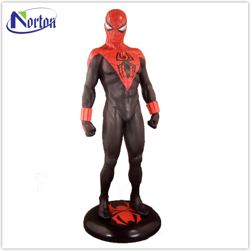 Good quality low price resin spider man sculpture NT--FS462A