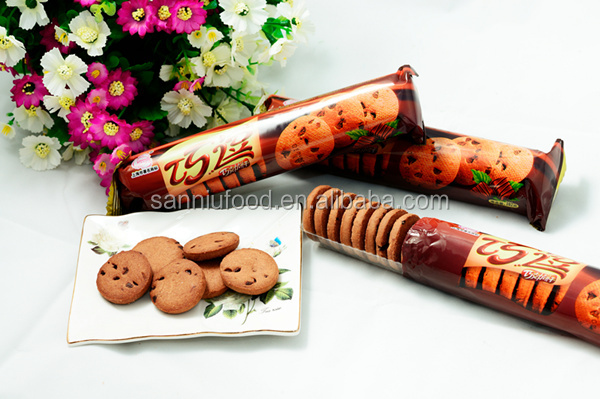 Sweet chocolate biscuit&crispy cookie