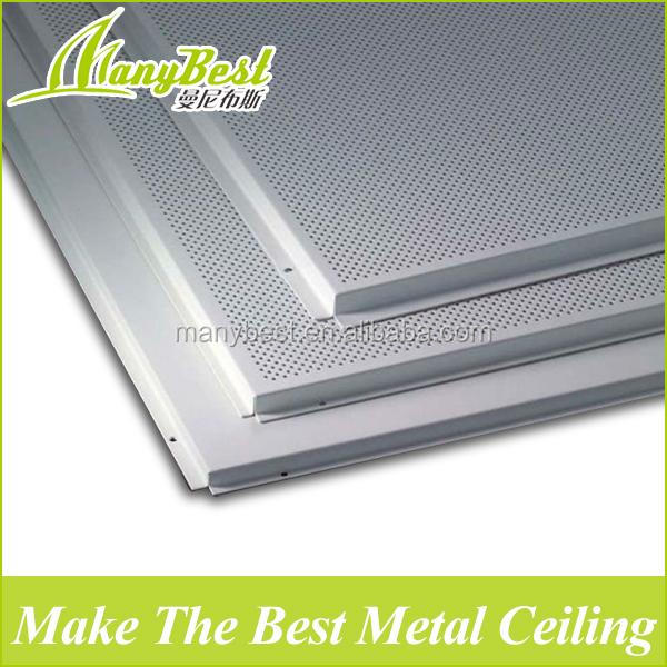 High quality acoustic metal aluminum perforated ceiling