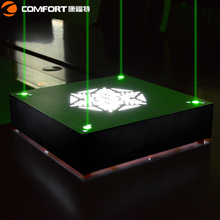 Acrylic display bottle glorifiers led light base