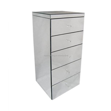 Cloakroom mirrored storeage cabinet for modern room