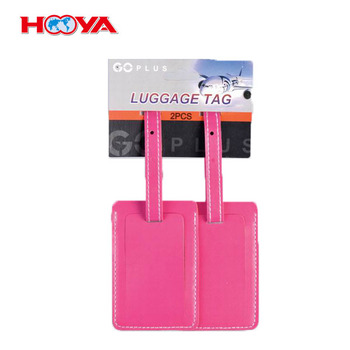 wholesale cool travel bright colord plastic Luggage Tag