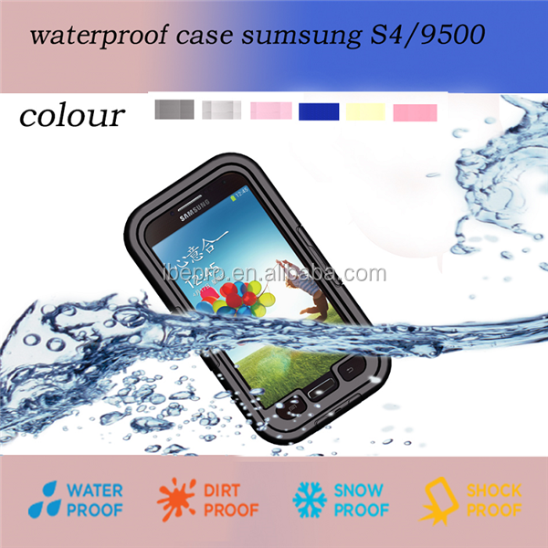 Wholesale Hard Waterproof Case for Samsung Galaxy S4