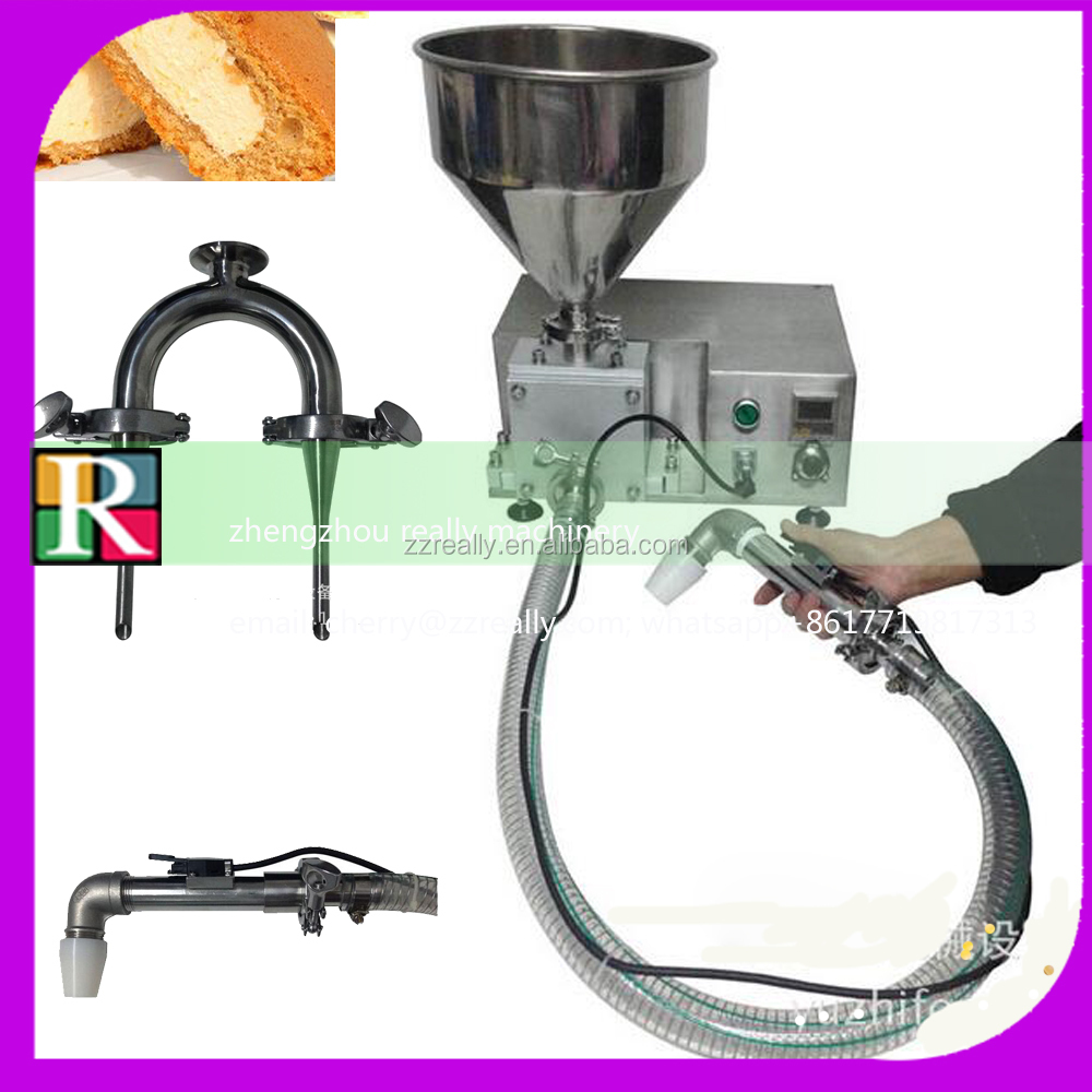 Multifunctional Stainless steel Manual cake cream filling machine Manual cake cream filling machine for sale