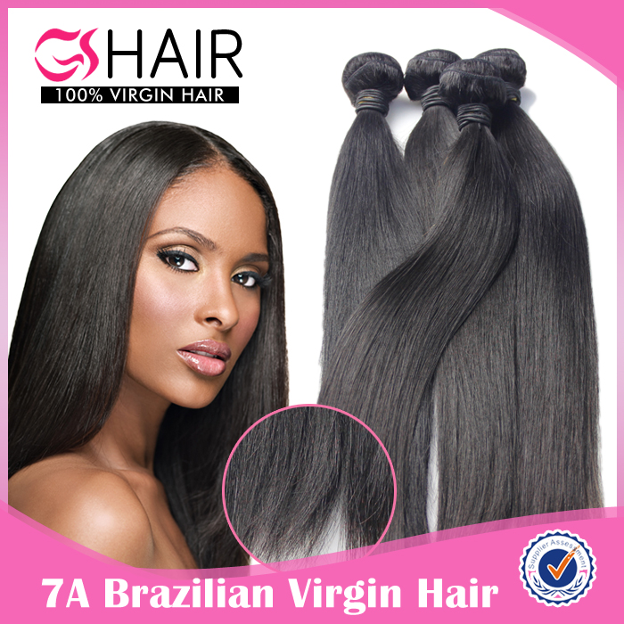 100 percent remy brazilian hair weaving virgin human hair bundles straight hair machine weft