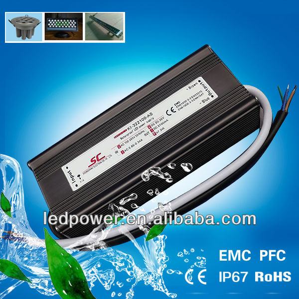SC LED driver KI-322100-AS PFC EMC 70W 2100MA isolated led power supply