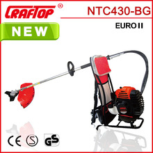 1.3KW Manual Flexible Shaft Backpack Brush Cutter