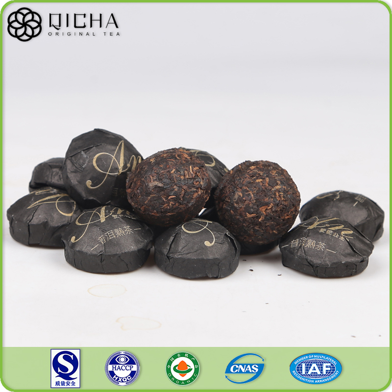 100% Natural Healthy Slimming Chinese Yunnan Mini Ripe Pu erh Tea