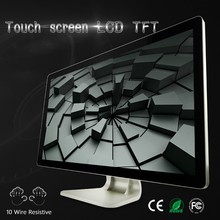 Industrial cpu monitor with capacitive multipoint touch