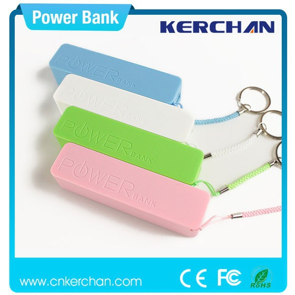 New products perfume power bank oem new design ce fcc kc ul rohs 2600mah