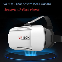 "2016 New 2.0 3d glasses vr box 2nd generation Virtual Reality Headset wine glasses 4.7"" To 6.0"" Mobile Phone"