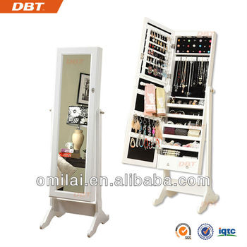 high quality mirror jewelry cabinet vietnam recycled wood furniture